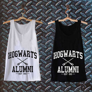 Hogwarts Alumni Harry Potter best customized design for Tank top Mens and Tank top Girls , sizes S - XXL