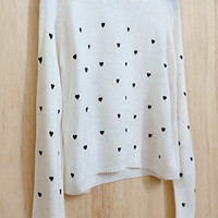Sprinkles of Love Cropped Sweater