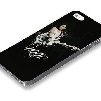 5 Seconds of summer, Hood with his guitar from 5SOS  iPhone 5 5S case, iPhone 4 4S case, Free shipping M-481