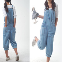 I am spoiled child - denim jumpsuit (K1203)
