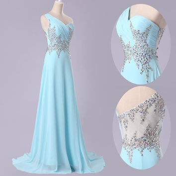 2014 Women Formal Bridal Bridesmaid Gown Evening Prom Long Party Cocktail Dress