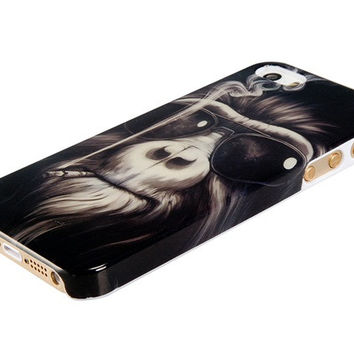 Mr. Orangutan Pattern Case for iPhone 5/5S