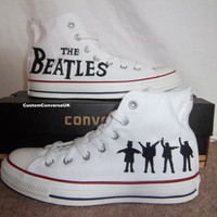 The Beatles Converse All Stars