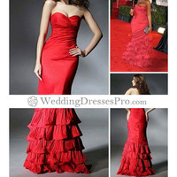Alluring A-line Sweetheart Strapless Satin with Beading and Embroider Wedding Dress [TWL110829001] - $153.99 : wedding fashion, wedding dress, bridal dresses, wedding shoes