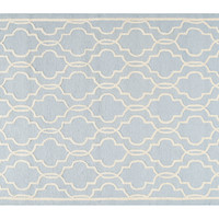 Hadden Rug, Light Blue/Ivory, Area Rugs