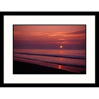 Great American Picture Hilton Head Sunrise Framed Photograph - Jeff Greenberg - IS212676-S-BK