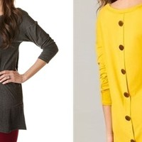 Button Back Pocket Tunics – 8 colors!