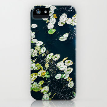 Lily Pads iPhone & iPod Case by Pati Designs | Society6