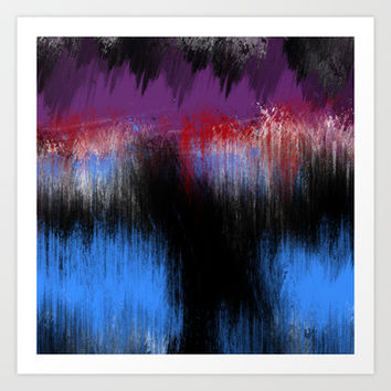 Absence Of Love (Color) Art Print by Timothy Davis