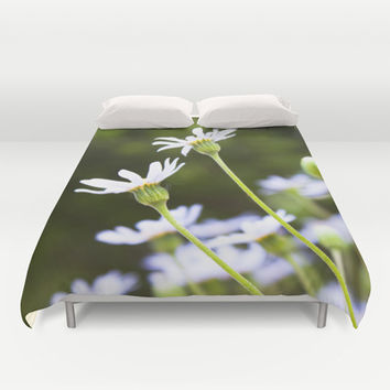 Spring Green Duvet Cover by Legends of Darkness Photography