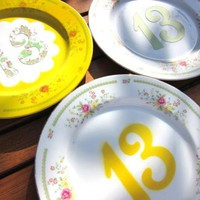 How-To: Table Number Plates