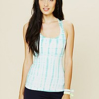 Free People Tie Dye Workout Tank