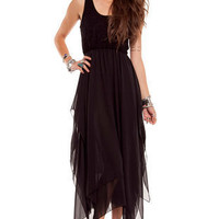 Bella Donna Dress in Black :: tobi