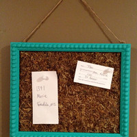Framed moss board