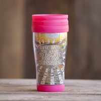 Create  Your  Own  Sunshine  #livehappy  Travel  Mug  From  Natural  Life