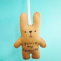 Felt Animals - Funny Bunny - You're.. on Luulla