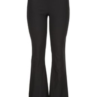 Black Pull on Stretch Bootcut Pants
