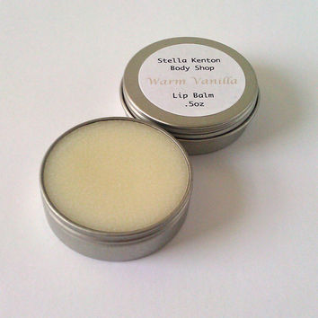 SALE - Warm Vanilla Lip Balm 20% off