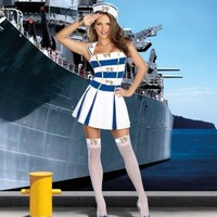 3 PC. Anchors Away @ Amiclubwear costume Online Store,sexy costume,women's costume,christmas costumes,adult christmas costumes,santa claus costumes,fancy dress costumes,halloween costumes,halloween costume ideas,pirate costume,dance costume,costumes fo