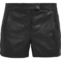 J.Crew - Collection leather shorts