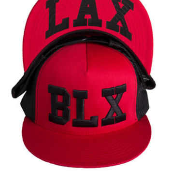 Red/Black Hat - BLXLAX | Lacrosse Lifestyle Apparel