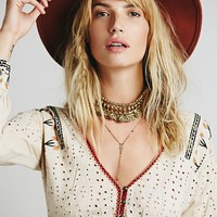 Free People FP New Romantics Phoenix Blouse
