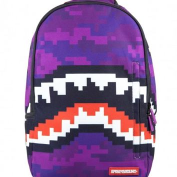 Pixel Shark Backpack | Sprayground Backpacks, Bags, and Accessories