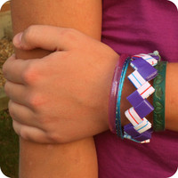 Grape Splash Bracelet