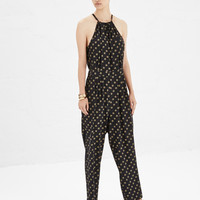 Totokaelo - No. 6 Black Bobbi Keyhole Jumpsuit Lion - $388.00