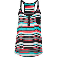 FULL TILT Stripe Womens Hi Low Tank 192929957 | Tanks &amp; Camis | Tillys.com