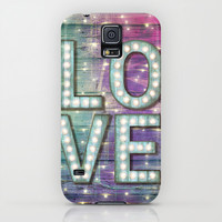 Love is the Light of Your Soul (LOVE lights III) iPhone & iPod Case by soaring anchor designs ⚓ | Society6