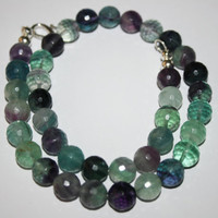 Flourite Gemstone Necklace
