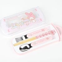 My Melody 3 Piece Cutlery Set: Party