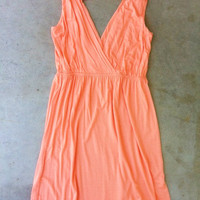 Saturday Market Dress in Apricot [2988] - $32.00 : Vintage Inspired Clothing & Affordable Summer Dresses, deloom | Modern. Vintage. Crafted.