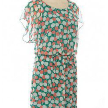 FLORAL CHIFFON DRESS @ KiwiLook fashion