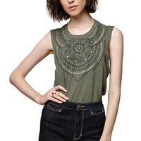 House of Harlow Graphic Muscle Tank at PacSun.com
