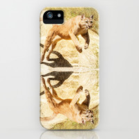 ACTION PUMA iPhone & iPod Case by Catspaws | Society6