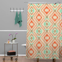 Pattern State Tile Tribe Southwest Shower Curtain