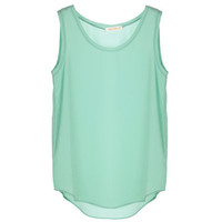 Brief Light Green Vest