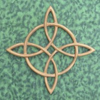 Compass Rose Sailors Knot-Celtic Knot of Journey and Return Carving