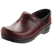 Sanita Women`s Professional Cabrio Clog,Bordeaux,43 EU/12.5-13 W US