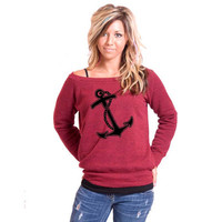 Anchor Bella Slouchy Wideneck Sweater