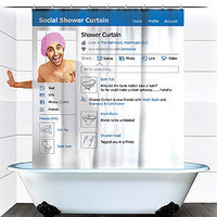The Social Shower Curtain
