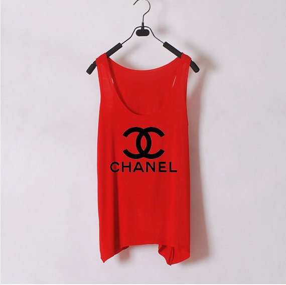 Classic Chanel - Women Tank Top - Red - Sides Straight