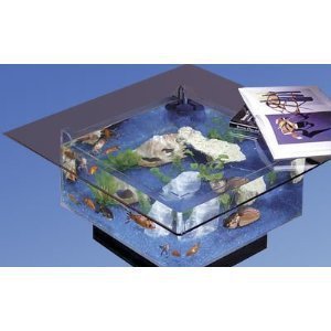 Square Aquarium Coffee Table