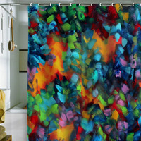 DENY Designs Home Accessories | Madart Inc. Color Blast Shower Curtain
