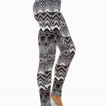 TRIBAL PEACHED LEGGINGS