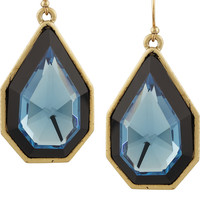 Lulu Frost Galactic gold-tone crystal earrings – 50% at THE OUTNET.COM