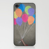 Up up and away iPhone & iPod Skin by Skye Zambrana | Society6