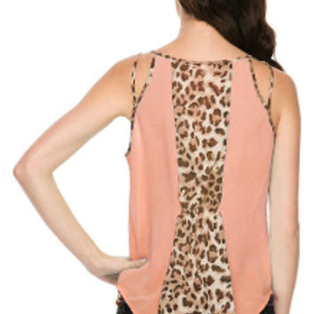Strappy Catwalk Chiffon Top